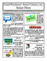 Canal Winchester Senior Newsletter