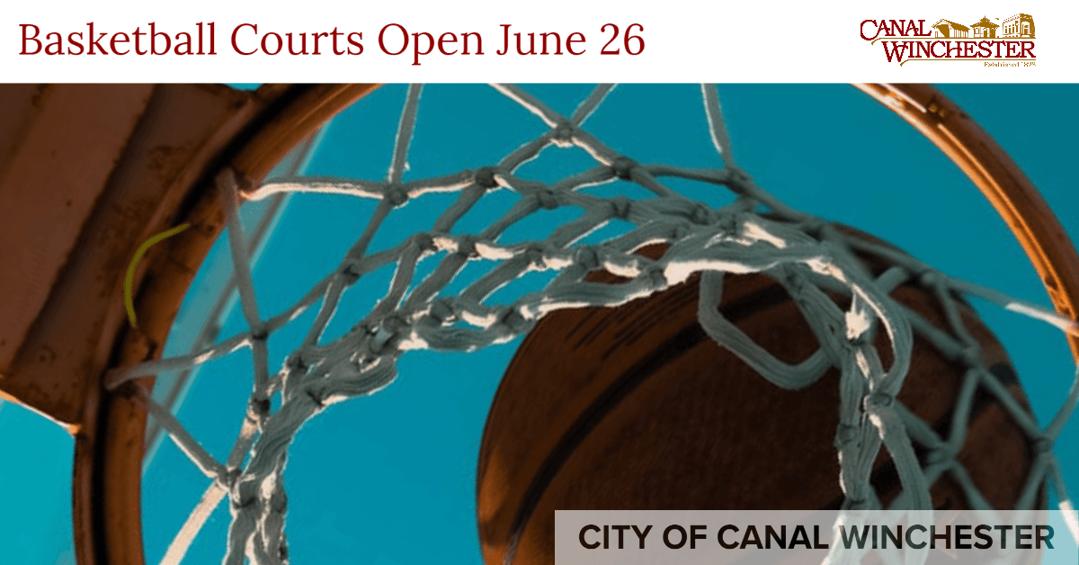 Basketball Courts Reopen